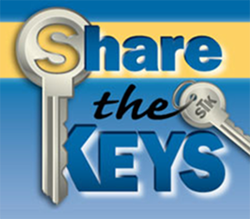 Share The Keys